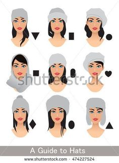 Find Hats Different Head Shapes Variation Choose stock images in HD and millions of other royalty-free stock photos, illustrations and vectors in the Shutterstock collection. Thousands of new, high-quality pictures added every day. Head Shapes, Body Shapes, Oval Face Shapes, Diamond Face Shape, Glasses For Your Face Shape, Fashion Terms, Face Shape Hairstyles, Fashion Dictionary, Fashion Vocabulary