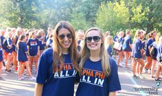 ALL IN | Alpha Phi | Made by University Tees | universitytees.com