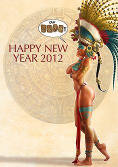 La Chica del Calendario Maya