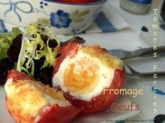 tomates farcies, oeuf et fromage - Amour de cuisine