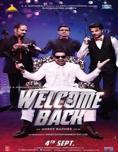 Welcome Back 2015 Hindi DVDScr watch online free download downloadhub.net