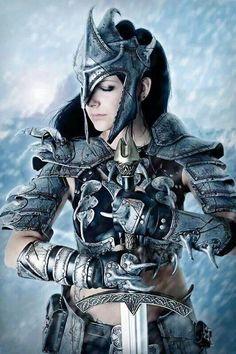 Woman Warrior.....