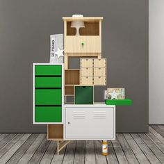 Like a collage of Ikea products- Testa Di Legno explores assembling - Upcyclista