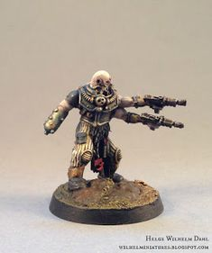 WilhelMiniatures: Nestorian's Henchmen: The Gunslinger