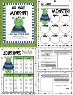 ADJECTIVE chart - awesome reference for kids or to use as a chart
