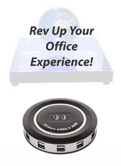 Sick of looking at your plain, practical, and boring desk? Rev up your office experience by turning your desk into the envy of every other person in the building. Forget the vending machine—set up your own USB mini fridge, just large enough to hold one ice-cold drink can. Tired of dry eyes during the workday? A mini humidifier can boost your comfort level. From the calculator spy camera to the laser keyboard, discover other ingenious gadgets on eBay's roster of must-haves for your desk.