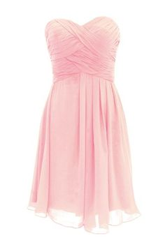 Dressystar Bridesmaid Dress Short Evening Dress for Girls Pink Size 2 Dressystar,http://www.amazon.com/dp/B00G34BH8G/ref=cm_sw_r_pi_dp_4VjBsb16FZ82MRE2