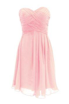 Dressystar Bridesmaid Dress Short Evening Dress for Girls Pink Size 2 Dressystar,http://www.amazon.com/dp/B00G34BH8G/ref=cm_sw_r_pi_dp_4VjBsb16FZ82MRE2
