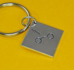 Harry Potter Keychain by SilverStatements on Etsy, $15.00