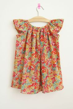 Marie, Citronille with angel sleeves | Liberty