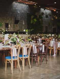 Borrowed BLU // Smog Shoppe Wedding