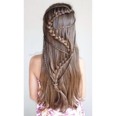 Snake Braid with Micro Braids