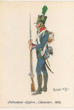 Cacciatore di un rgt. fanteria leggera francese
