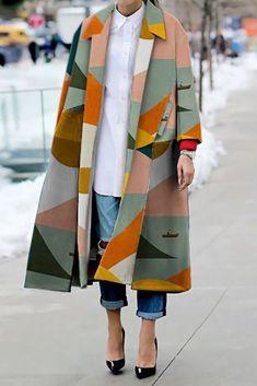 Look Fashion, Fashion Beauty, Autumn Fashion, Fashion Design, Fashion Coat, Modern Fashion, Unique Fashion Style, Dress Fashion, Latest Fashion Styles