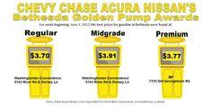 Bethesda Golden Gas Pump Award for week of June 3 2012