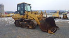 1999 Caterpillar 963C LGP Track Loader Diesel Engine Construction Hydraulic Cab