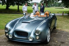 The Bristol Bullet is being launched on the anniversary of the founding of Bristol Cars Limited and celebrates 70 years of sophisticated luxury motoring Classic Cars British, British Sports Cars, British Car, Bristol Bullet, Bristol Cars, Grand Luxe, Porsche, Classy Cars, Hot Cars