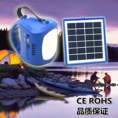 Solar lamp for camping !