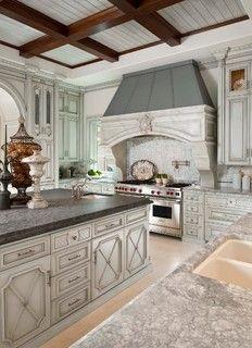 Straight Lane Spec - Mediterranean - Kitchen - dallas - by Dallas Design Group, Interiors