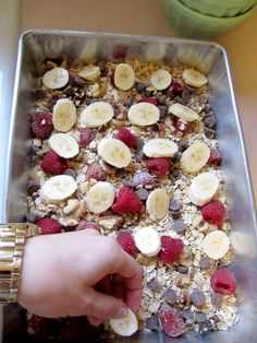 Baked oatmeal. Fun for a weekend!