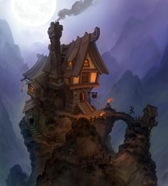 Tavern, Stoyan Stoyanov on ArtStation at http://www.artstation.com/artwork/tavern-5134715c-d120-4780-805b-1ac7ffb10f9d