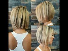 Haircuts Straight Hair, Popular Short Hairstyles, Short Hairstyles For Thick Hair, Bob Hairstyles For Fine Hair, Short Bob Haircuts, Curly Hair Styles, Hairstyle Short, Hairstyle Ideas, Layered Hairstyles