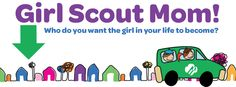 Girl Scout Mom facebook header - timeline. From Girl Scouts of the Green and White Mountains