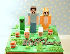 Image result for Minecraftcakes