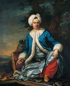 Antoine de Favray - A European in Turkish Costume | 1762-71