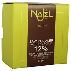 Najel Collection Aleppo Soap - Original Syrian Soap 200g - http://best-anti-aging-products.co.uk/product/najel-collection-aleppo-soap-original-syrian-soap-200g/