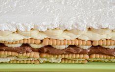 torta od 5 kg Czech Recipes, Croatian Recipes, Sweet Recipes, Cake Recipes, Dessert Recipes, Graham Crackers, Cakes And More, Creative Food, No Bake Cake