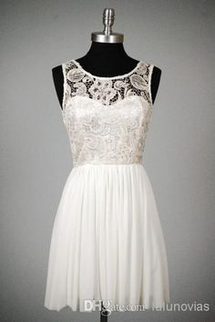 Lace Jewel Lace Top Chiffon Skirt pinterest chiffon 8th grade short graduation dresses