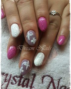 # sweatshirtnails by dreamnailskoromstudio Dream Nails, Trendy Nails, Winter Nails, Knit Patterns, Nail Art, 3d, Decoration, Instagram Posts, Beauty