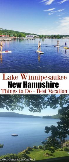 Lake Winnipesaukee vacation 2016 / Mill Falls / Meredith NH/ Fun Spot /  Monkey Trunks / Go-Kart Track/ Best vacation / Things to Do / Four Generations One Roof #LiveFreeNH #ad