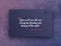 Quote Ui Design