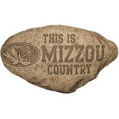 Missouri Tigers Mizzou Personalized Garden Stepping Stone