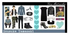 """Sousuke Yamazaki - Date"" by randa67 ❤ liked on Polyvore featuring River Island, Dr. Martens, Topman, Blue Nile, MuuBaa, Linda Farrow, Miss Selfridge, Bling Jewelry, Givenchy and Christopher Kane"