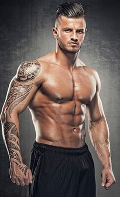 Portrait of sexy Muscular Men Bodybuilding, Male Enhancement, Love Handles, Muscular Men, Abdominal Muscles, Man Photo, Easy Workouts, How To Stay Healthy, Role Models