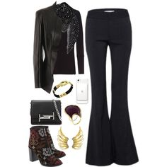 A fashion look from June 2017 by vida2009 featuring Alexander McQueen, Tod's, Yves Saint Laurent e Guerreiro