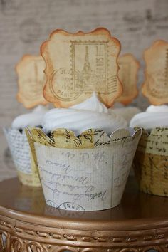 Travel Themed Cupcake Wrappers - Map Cupcake Wrappers - Vintage Travel Cupcake Wrappers by CordiallyInvitedShop on Etsy https://www.etsy.com/listing/176421672/travel-themed-cupcake-wrappers-map
