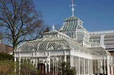 Cast-iron conservatory