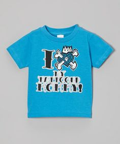 Micro Me Cobalt 'Tattooed Mommy' Tee - Toddler & Boys Baby Momma, Baby Sewing, Toddler Boys, Wardrobe Staples, Outfit Of The Day, Cobalt, Tees, Mens Tops, Outfits