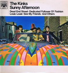 The Kinks – Sunny Afternoon – MAL 716 – LP Vinyl Record