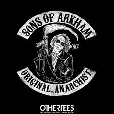 """Original Anarchist"" by neilss1 T-shirts, Tank Tops, Sweatshirts and Hoodies on sale until 27th September at www.OtherTees.com Pin it for a chance at a FREE TEE! #joker"