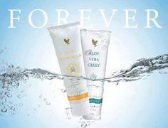The perfect duo for sunny days! Aloe Sunscreen will keep your skin protected and moisturized and Aloe Vera Gelly will sooth and calm your skin after a day in the sun. Forever Living Aloe Vera, Forever Aloe, Forever Living Business, Protector Solar, Bee Free, Summer Skin, Forever Living Products, Juni, Skin Care