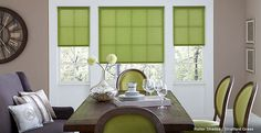 Shop for the right set of roller shades to fit any style of room. 3 Day Blinds offers fabrics that are eco friendly, room darkening and solar screening. Window Blinds & Shades, Blinds For Windows, Window Coverings, Window Treatments, Toddler Proofing, Striped Room, Modern Blinds, Blinds Design, Roller Shades
