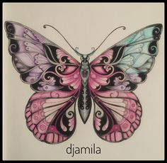 My butterfly from Magical Jungle  #magicaljungle #magicaljunglebutterfly…