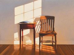 Some thoughts on Jim Holland's work and some selected paintings Jim Holland is an American artist, born in 1955 in Schenectady, NY. Design Patio, Light And Shadow, Oeuvre D'art, Painting Inspiration, Holland, Contemporary Art, Illustration Art, Windows, Artwork