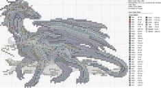 sandylandya@outlook.es  Christmas Gray Wispy Dragon by carand88