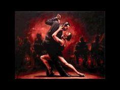 Tango Flamenco   ( Armik )  BEST ON YOU TUBE !! Fabian Perez, Jack Vettriano, Shall We Dance, Just Dance, Tango Art, Art Couple, Most Famous Paintings, Dance Paintings, Mary Cassatt
